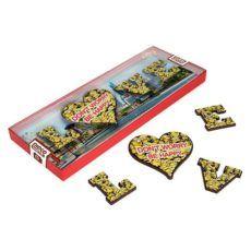 Minionkowe LOVE z czekolady