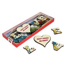 Motywujące LOVE z czekolady