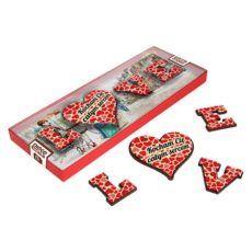 Czekoladowe LOVE na Walentynki