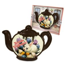 Czekoladowy czajnik na Wielkanoc