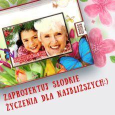 Własnoręcznie wykreowana pocztówka z czekolady 100