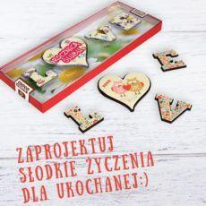 Pyszne czekoladowe LOVE 85
